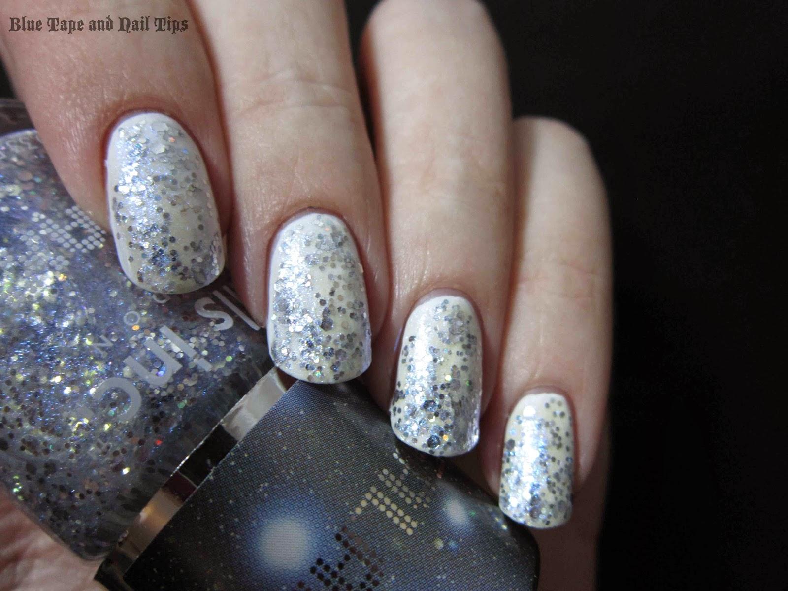 Blue Tape and Nail Tips: Nails Inc Galaxy in Trafalgar Crescent