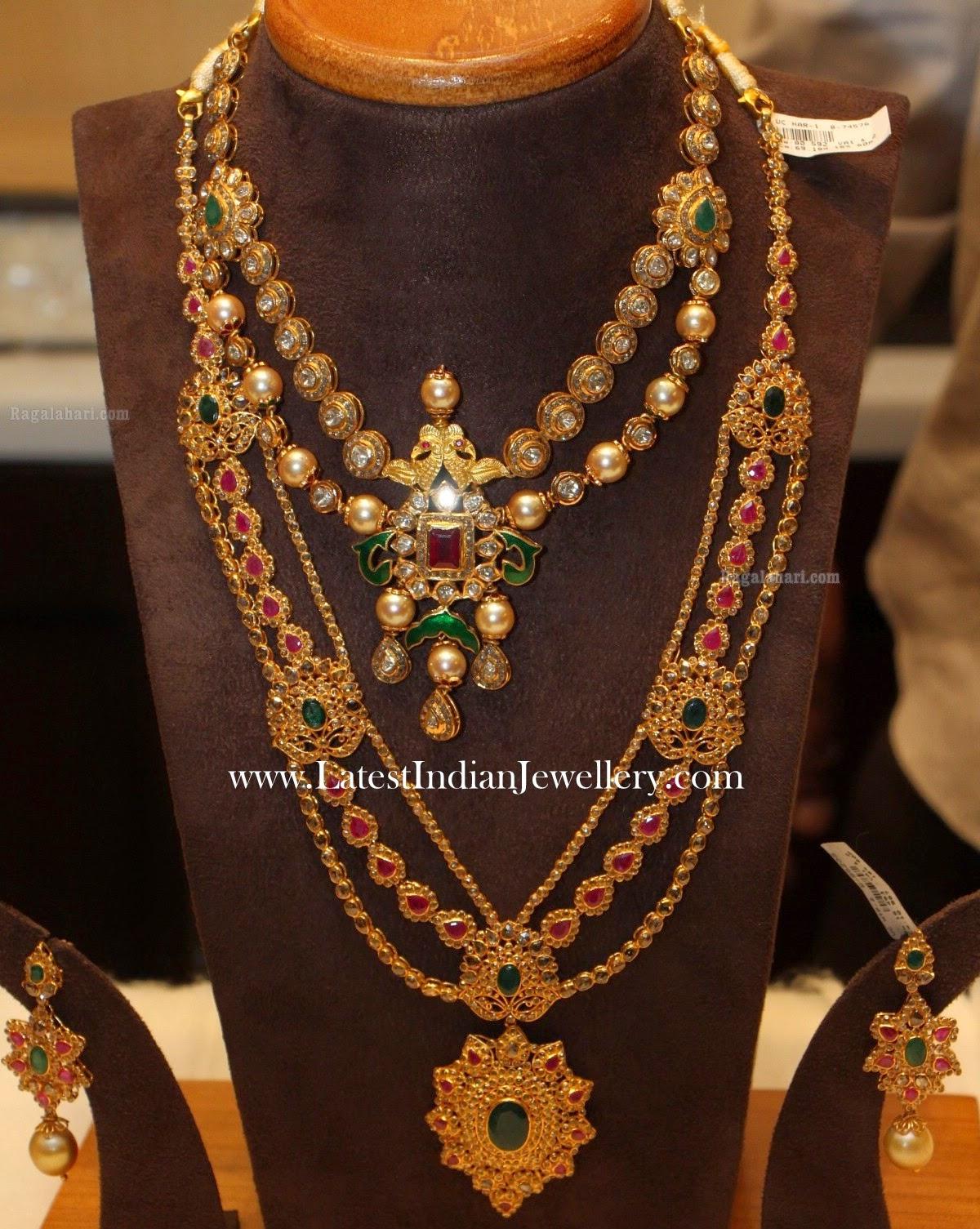 Multi Step Uncut Diamond Jewellery