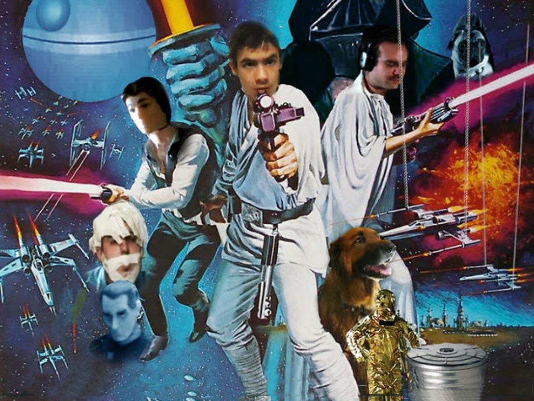 Star Wars Uncut - poster