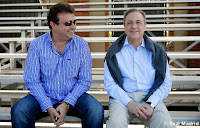 Florentino Pérez y José Angel Sánchez Real Madrid