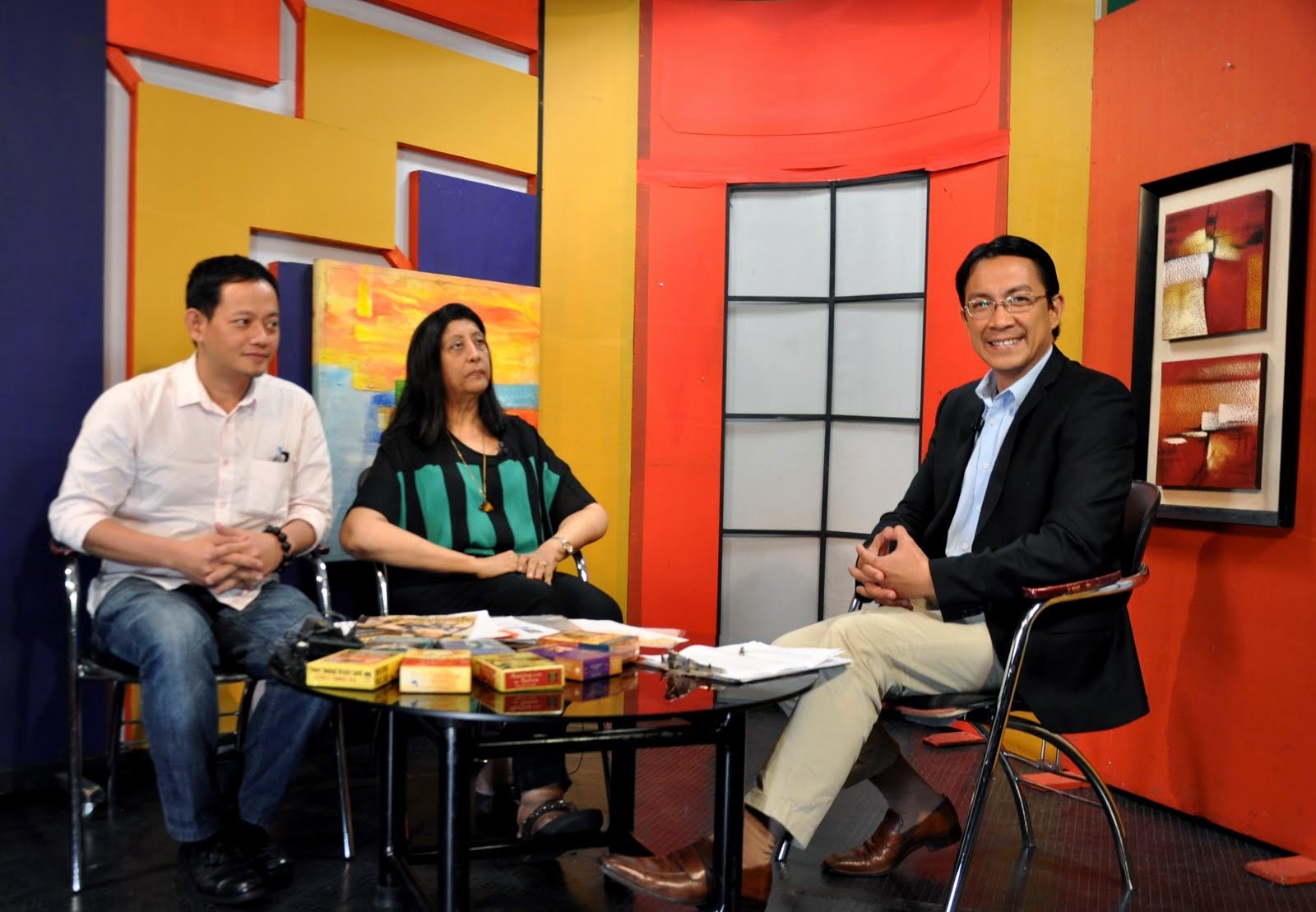 My TV Guesting/Interview