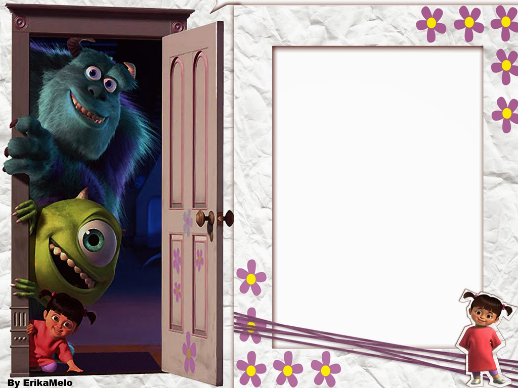 Monsters Inc Free Printable Invitations or Cards Is it for