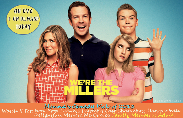 We're The Millers Must See Comedy 2013
