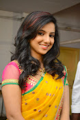 Leema glamorous photos in half saree-thumbnail-7