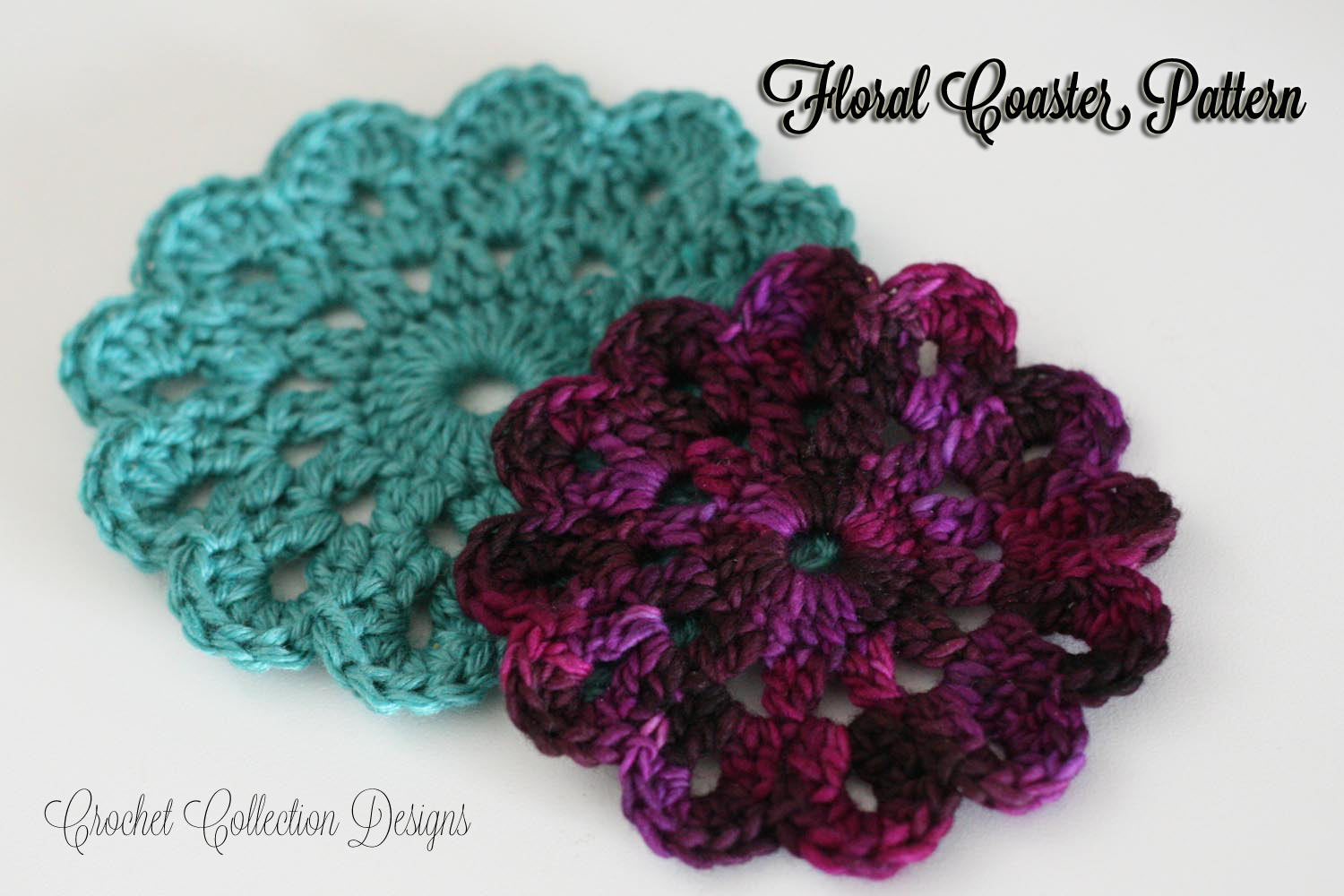 Free Crochet Patterns Of Coasters : Floral Coaster Pattern ~ Crochet Collection