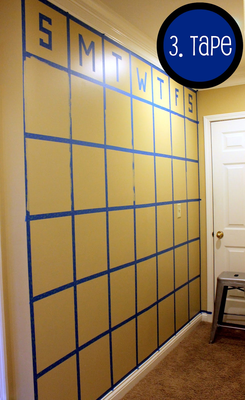DIY} Chalkboard Wall Calendar - Pinterest Challenge - Our Fifth House