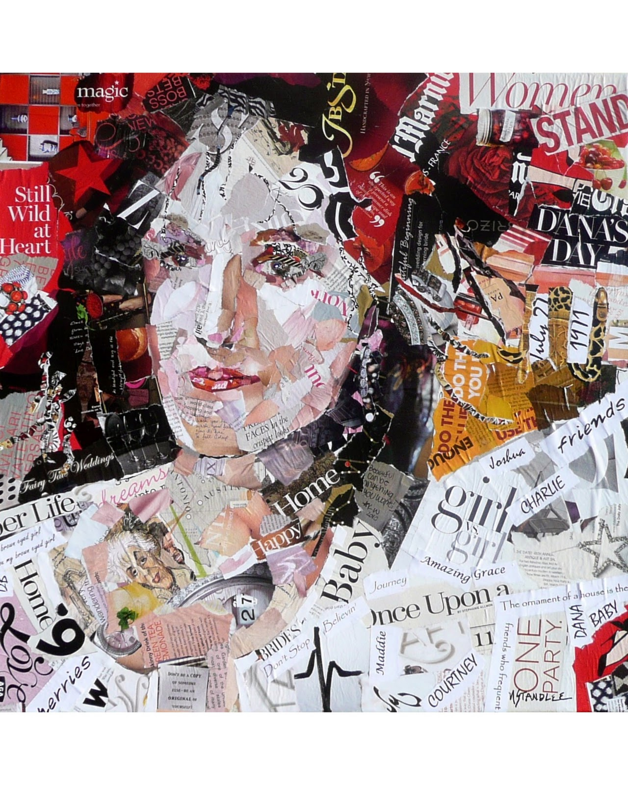 torn paper collage For this project, you will be using torn paper to create a collage you can  use virtually any kind of paper you can find • magazines, newspapers, junk.