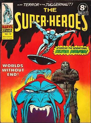 Marvel UK, The Super-Heroes #19, the Silver Surfer
