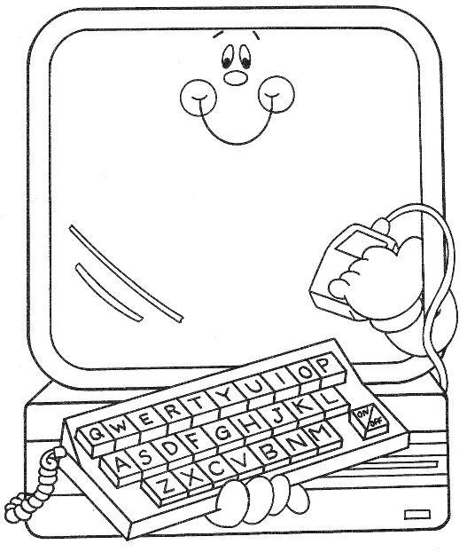 TE CUENTO UN CUENTO: Dibujos para colorear de Medios de Comunicación ...