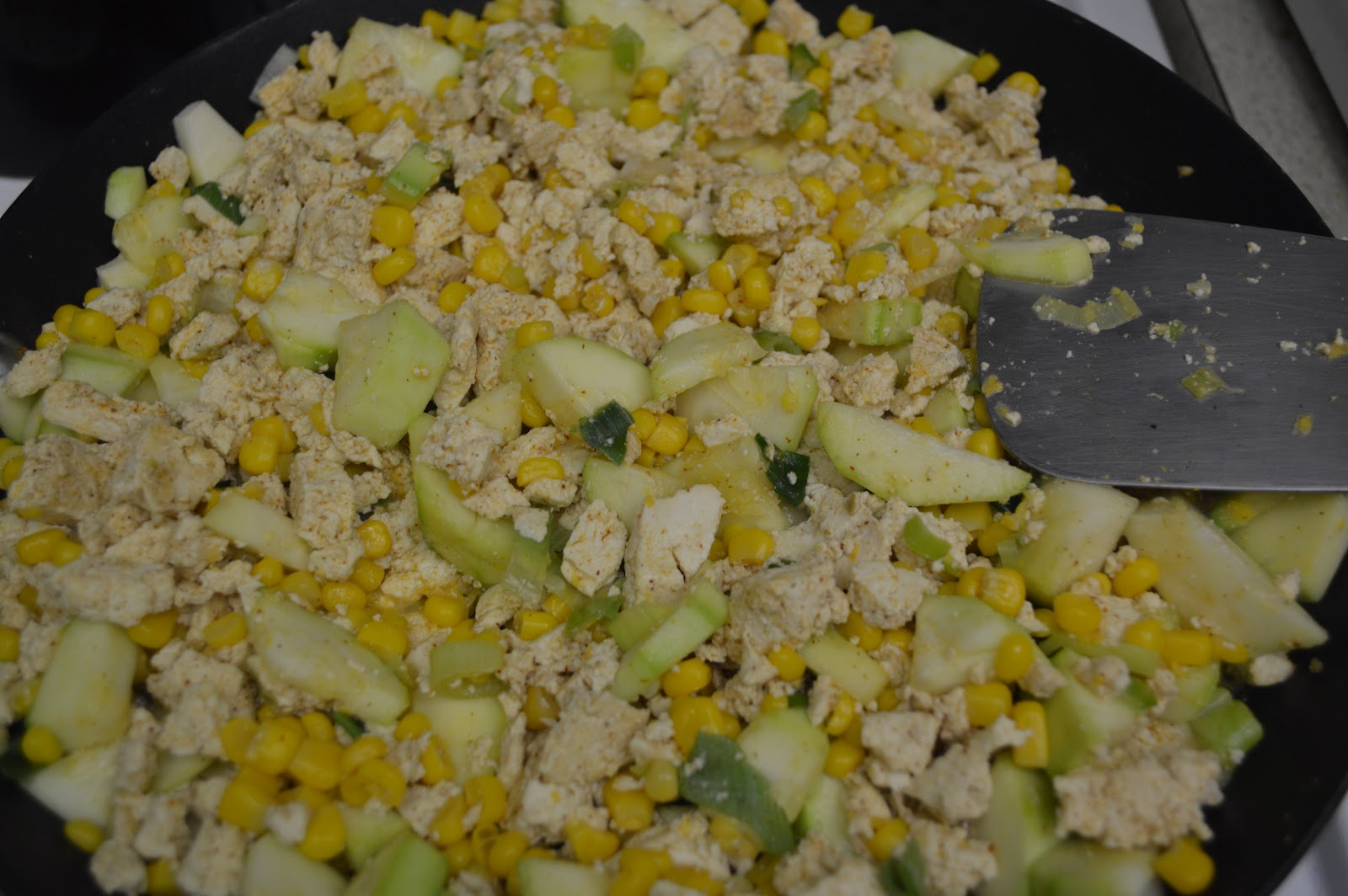 Day #3: Southwestern Tofu Scramble - The Samantha Show