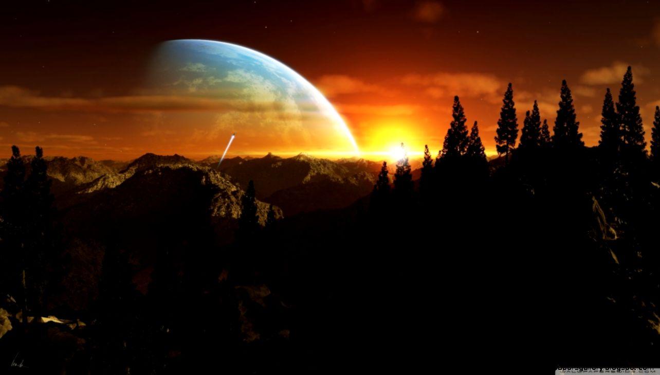 Alien Planet HD desktop wallpaper  High Definition  Fullscreen