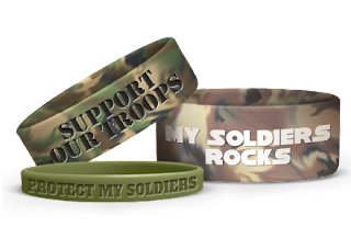 Support Our Troops Wristbands