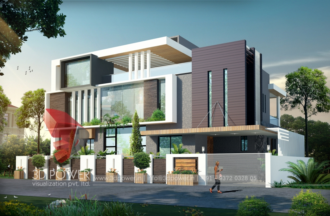 D Front Elevation Of School : Ultra modern home designs