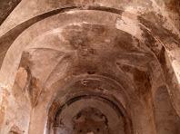 Arcs diafragmes i la volta de llunetes de Sant Genís Sadevesa