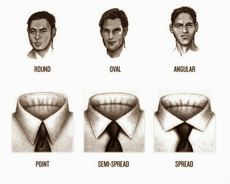 Tips Memilih Kemeja Berkerah Untuk Pria