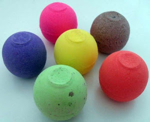 esferas efervesentes