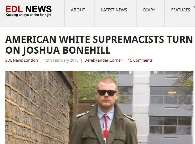 American White Supremacists Turn On Joshua Bonehill
