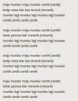 """Lyrik/Lirik Lagu Rina Nose """"Maju Mundur Cantik"""""""