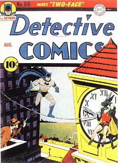 Detective Comics #66 cover image. First appearance of Two Face comic