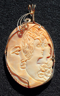 Modern Hand Carved Cameo