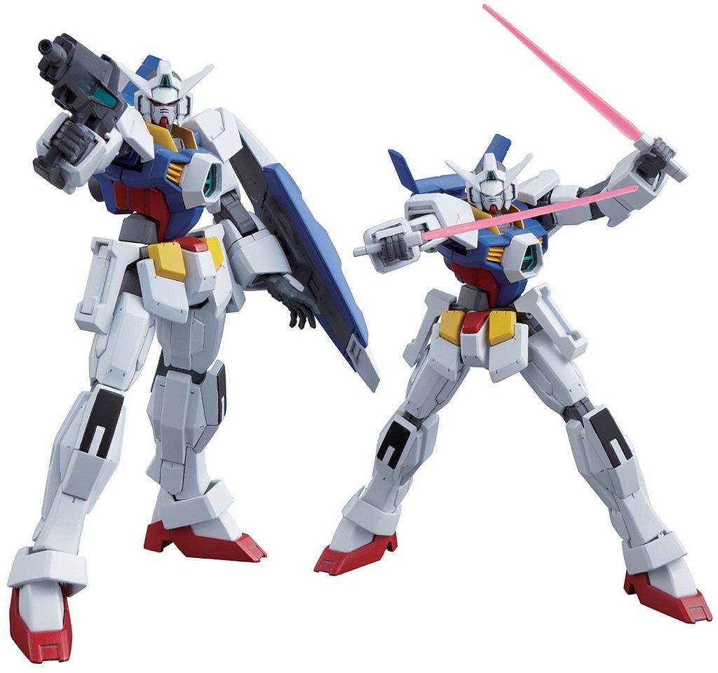 September 2011: 雪森林: [HG For September 2011] Gundam AGE-1
