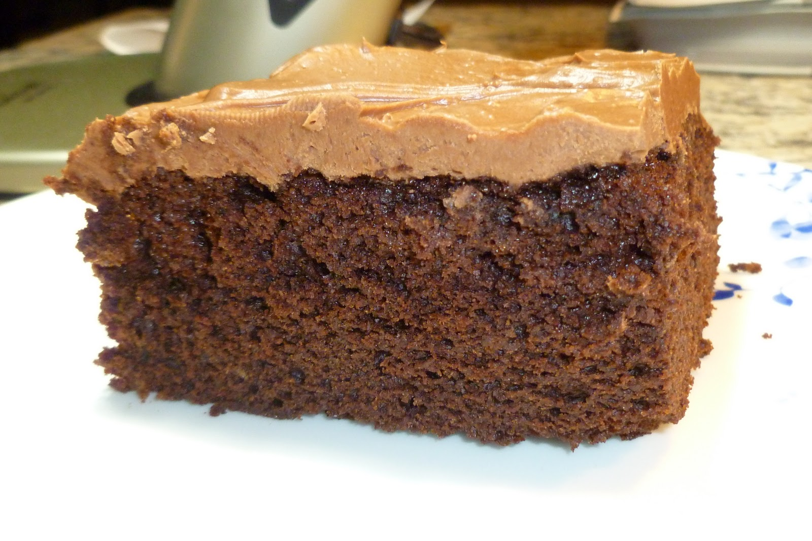 ... chocolate cake day so of course i have to post a chocolate cake recipe