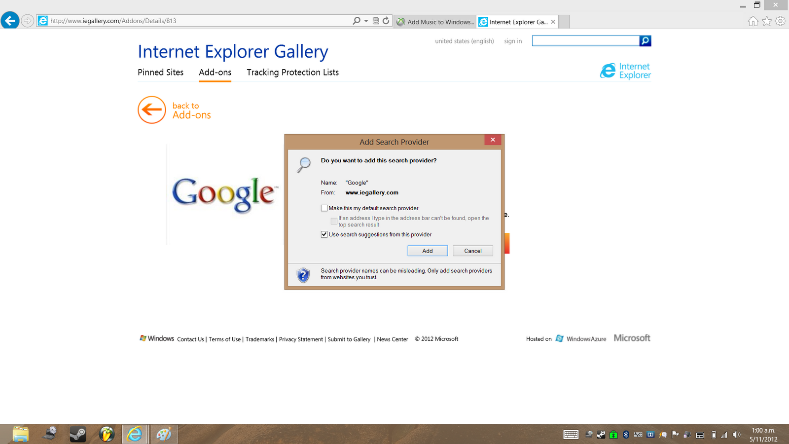 How to View Internet Explorer 7 Search History