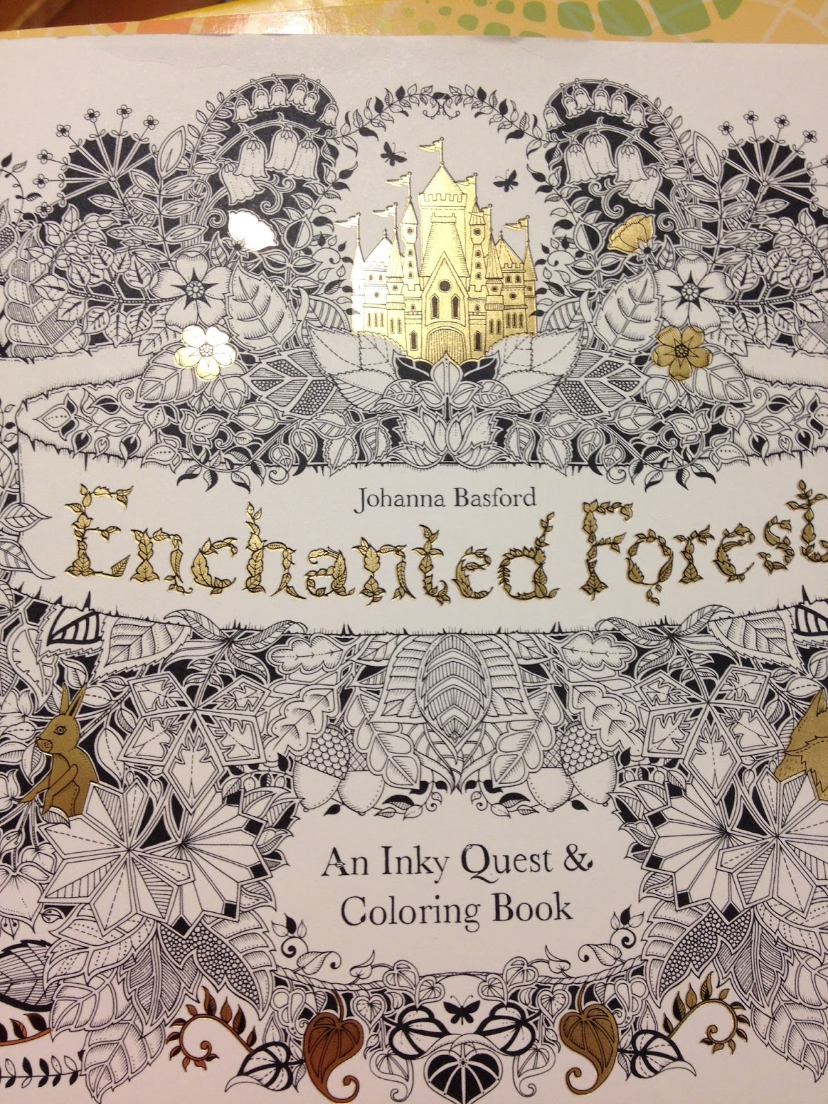 Enchanted Garden Coloring Book By Johanna Basford