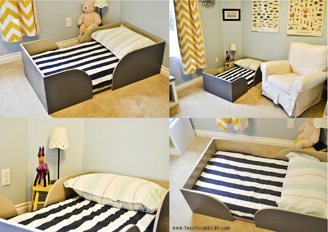 Chris And Sonja The Sweet Seattle Life Diy Toddler Bed