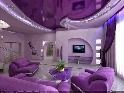 decoracao de sala lilas : decoracao de sala lilas: : Ideias para Decorar a sua Sala de Estar em tons de Lilás/Roxo
