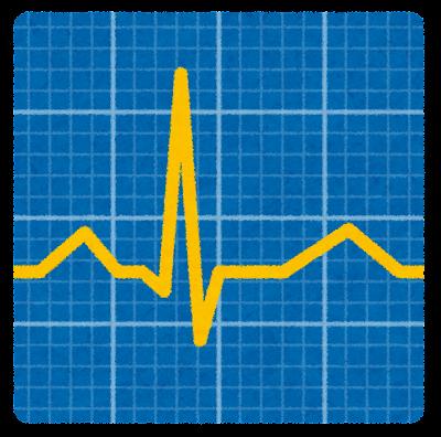 心電図のイラスト