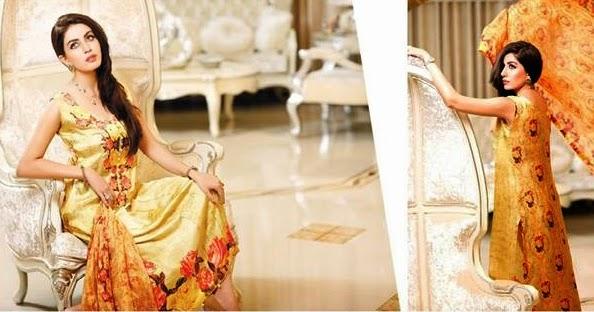 Luxury SILK Eid Dresses-15