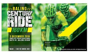 Baling Century ride 2016 - 3 December 2016