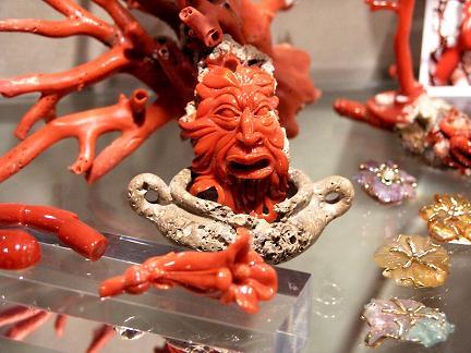 červený koral z Alghero