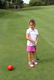 What a Little Golfer! :-)