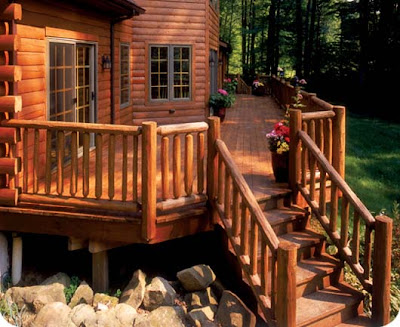 Staining made simple with better backyard for Exterior wood stain flood