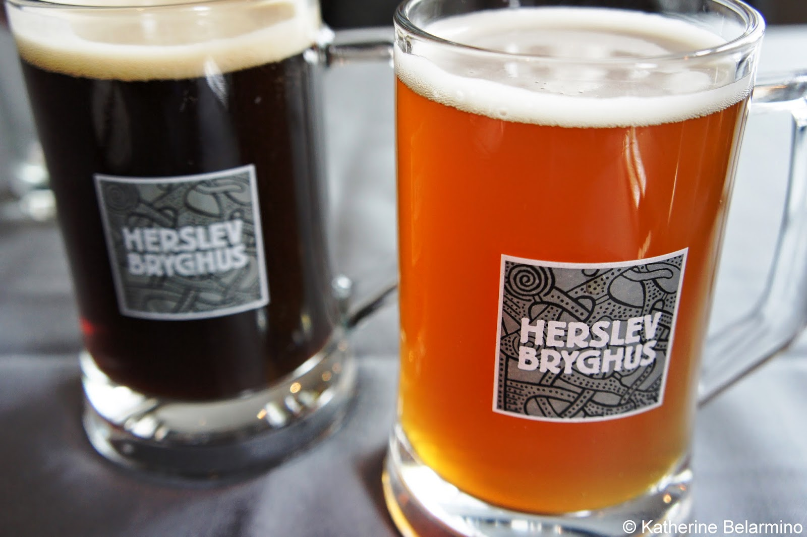 Herslev Bryghus Danish Beer at Gourmethuset Store Bors Roskilde Denmark