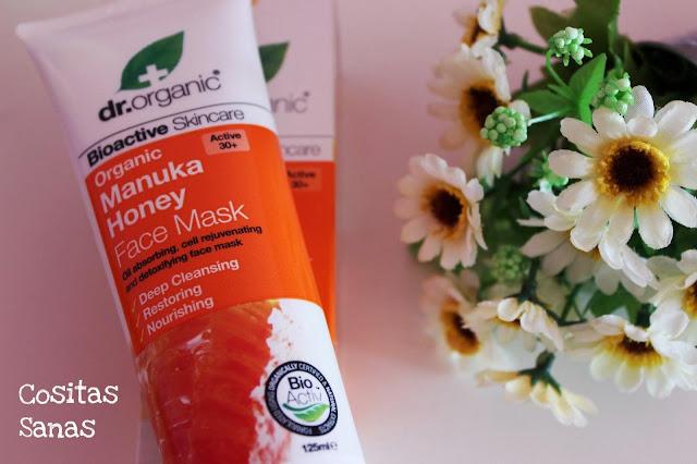 mascarilla cosmetica natural miel