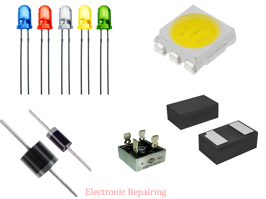 electronics components diodes Diodes can often help protect capacitors and other components from over-voltage, so they play an important role in the overall design of an electronic device diodes are also used to steer damaging high voltages away from sensitive devices in a circuitry.