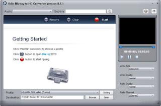 Odin Blu-ray to HD Converter 8.7.1