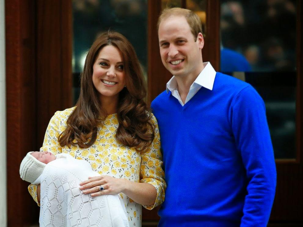 Foto Bayi Perempuan Kate Middleton, Pewaris Takhta Kerajaan Inggris