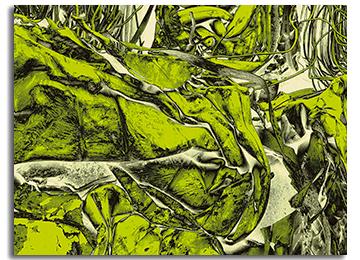 abstract, green, wall art, canvas art, contemporary, modern,