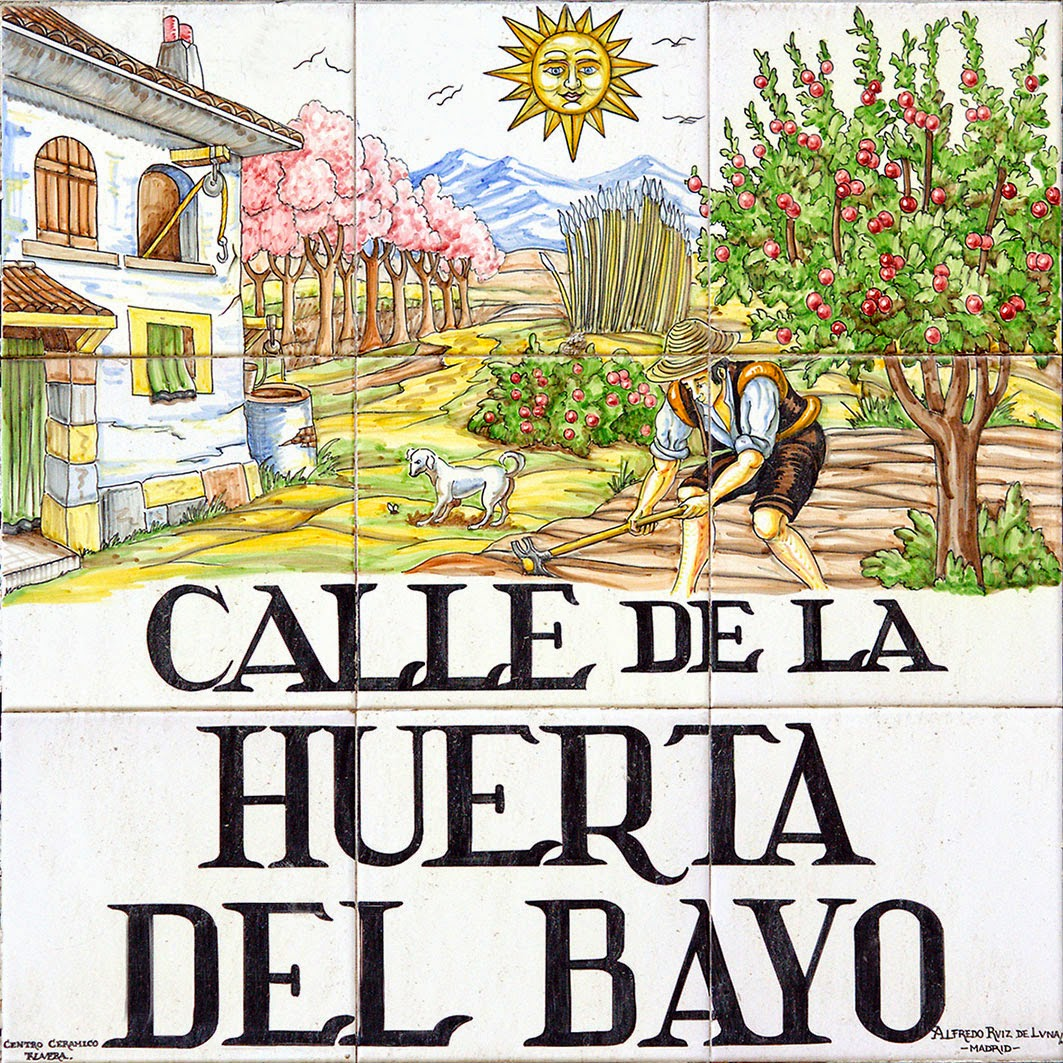 Calle de la Huerta del Bayo