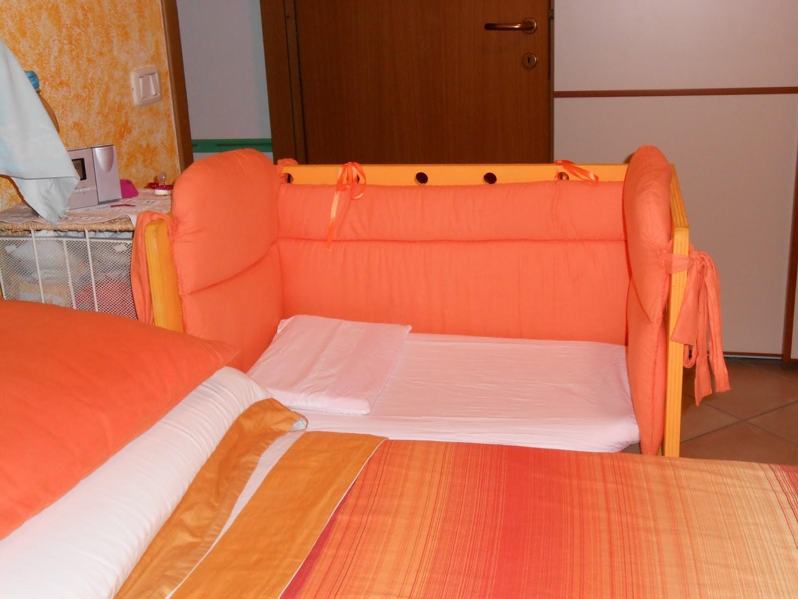 Bambinabirbona side bed culla da affiancare al lettone - Culla da attaccare al letto ...