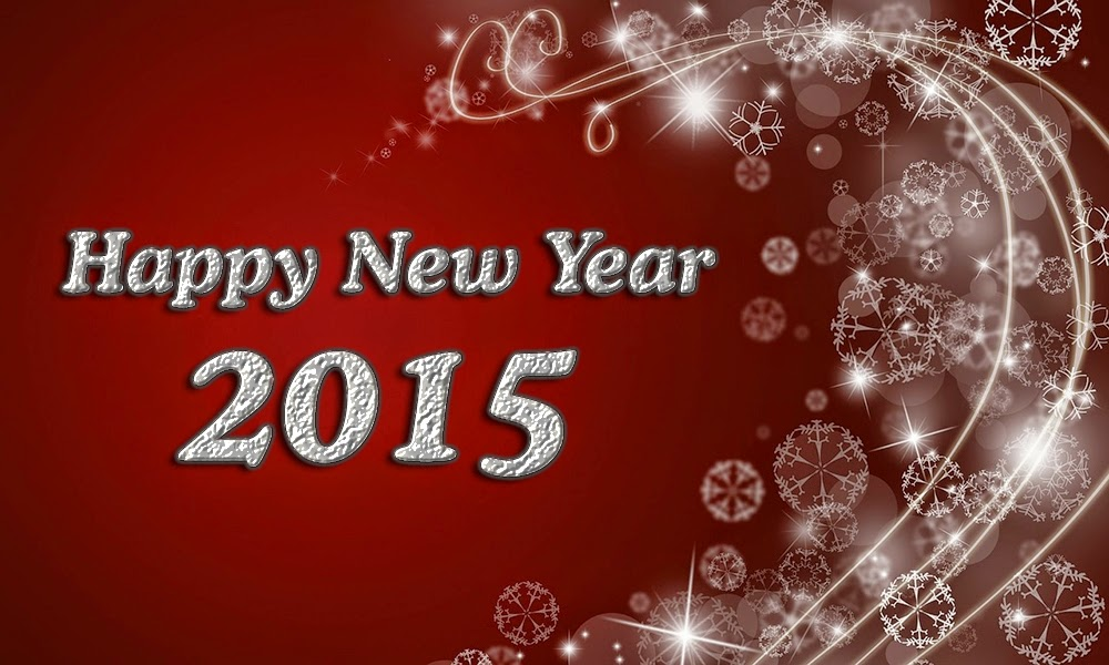 Christmas Stars Happy New Years Wishes Wallpapers 2015
