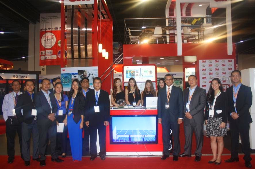 3M Philippines Displays Next Generation Electronics at the PSECE 2014