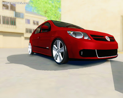 GTA SA - VW GOL G5 + Roda saveiro Cross na FIXA