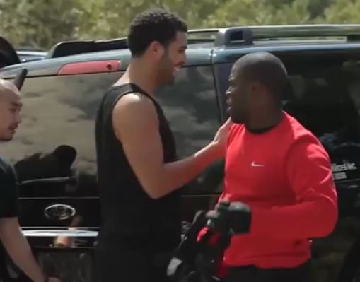 Day In The Life: Kevin Hart Vs Drake In Paintball