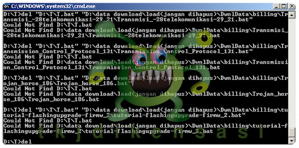 Cara Menghapus Virus Bat Di Komputer Atau Laptop