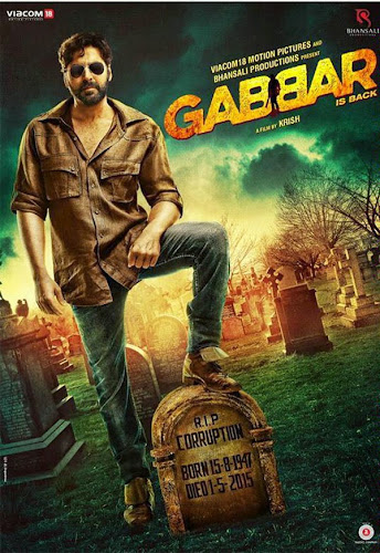 Gabbar is Back (2015) Movie Poster No. 1